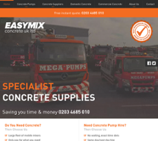 Delivery of Ready Mix Concrete