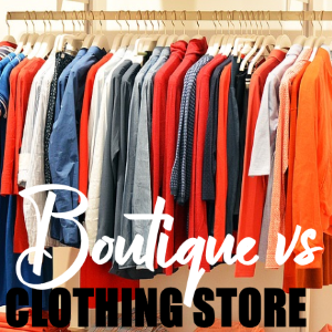 Digital women's clothing boutique guidance and assessment